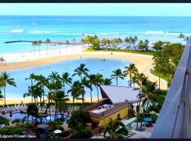 Amazing Ilikai Condo #1128, apartment in Honolulu