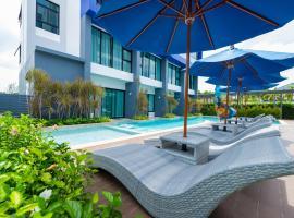 Krabi SeaBass Hotel, отель в городе Краби