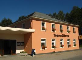 Gaststätte & Pension Jägerwäldchen, Hotel in der Nähe von: Trixi Park, Bertsdorf