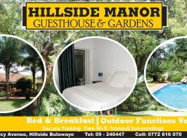 Hillside Manor, hótel í Bulawayo