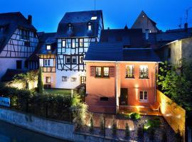 Hotel Le Colombier Suites, hotel in Colmar