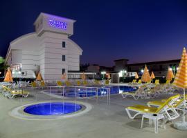 Konakli Nergis Hotel, отель в Конаклах, рядом находится Крепость Аланьи