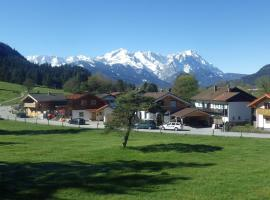Farchant-Zugspitze, pet-friendly hotel in Farchant