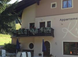 Appartements Kröll, Unterkunft zur Selbstverpflegung in Saalbach-Hinterglemm