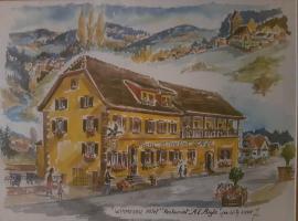 Hotel Restaurant A l'Aigle, hôtel à Wimmenau