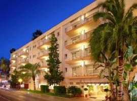 Hotel Les Palmeres, hotel a Calella