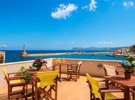 Hotel Amphora, hotel in Chania