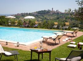 Podere Sant'Elena, country house in San Gimignano