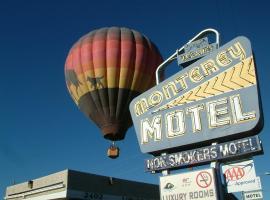 Monterey Non Smokers Motel Old Town, motel in Albuquerque