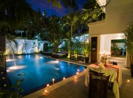 La Rose Suites, отель в Пномпене