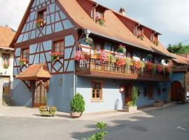 Hotel du Scharrach, hôtel à Scharrachbergheim-Irmstett