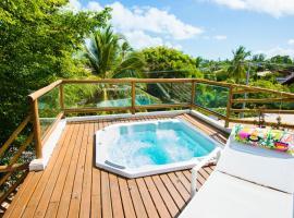 Duplex com hidromassagem - Praia do Forte, hotel with jacuzzis in Praia do Forte