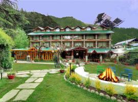 Johnson Lodge & Spa, hotel in Manāli