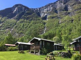 Flåm Camping & Cabins, отель в городе Флом