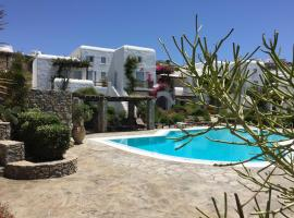 Ornos Suite, pet-friendly hotel in Mýkonos City
