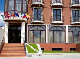 RHC Royal Hotel, hotel a Nymphaea Aquapark környékén Nagyváradon