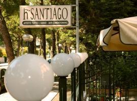 Hotel Santiago, отель в городе Милано-Мариттима