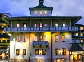 Hotel Vier Jahreszeiten, hótel í Berchtesgaden