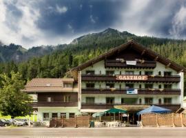 T3 Gasthof Spullersee, hotel in Wald am Arlberg