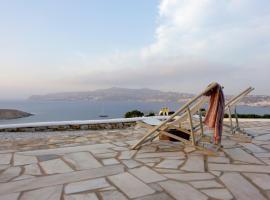 Blue Ocean Mykonos, villa in Ornos