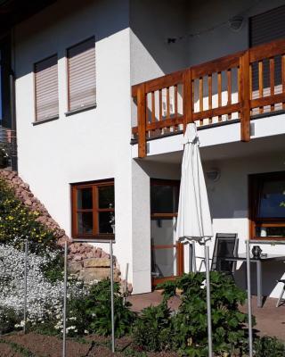 2-Zimmer-Ferienwohnung Gartenblick