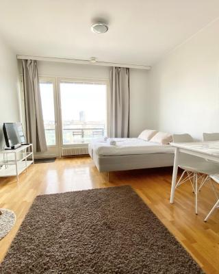 City Home Finland Tampella - City View, Own Sauna and Great Location