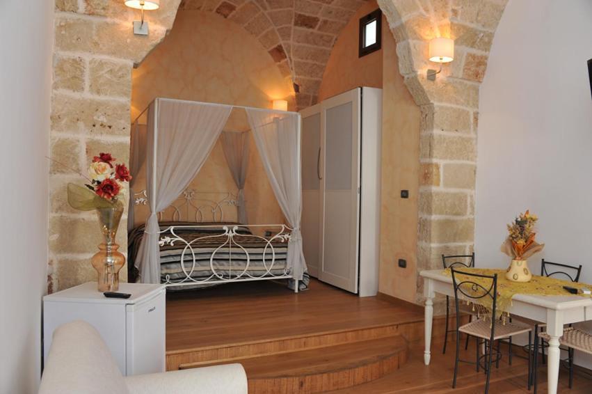 Letto o letti in una camera di Palazzo dei Saraceni