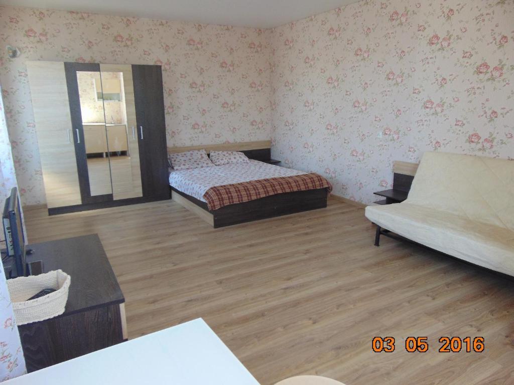 Кровать или кровати в номере Гостевой дом Лиза
