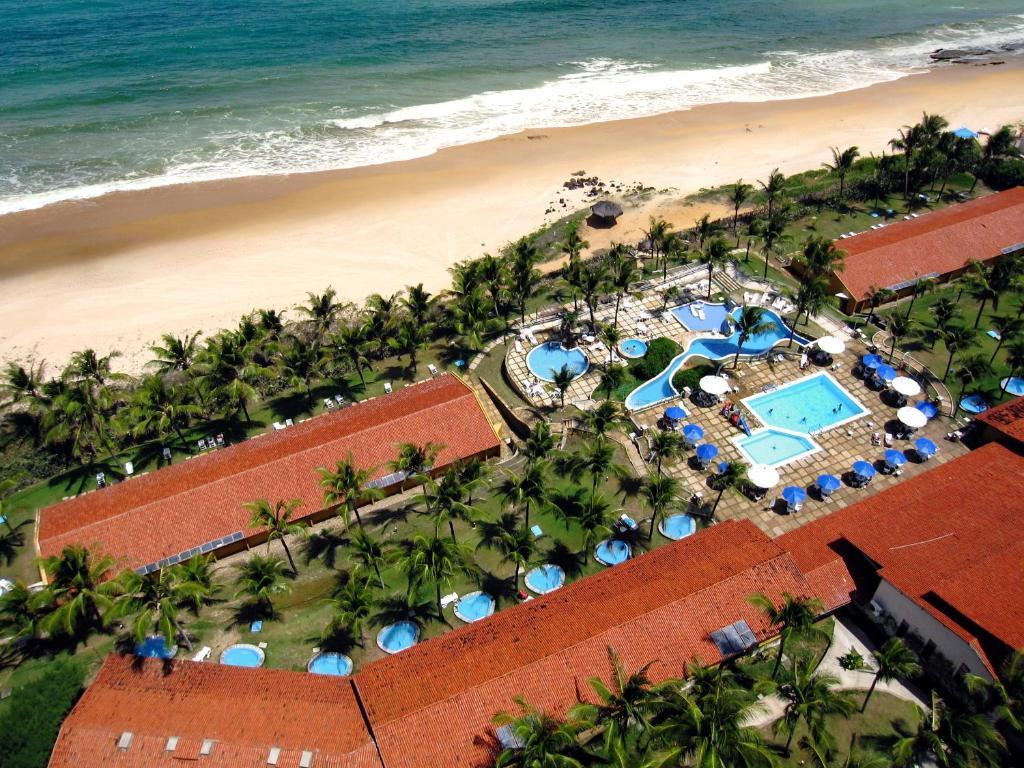 Blick auf Hotel Marsol Beach Resort aus der Vogelperspektive