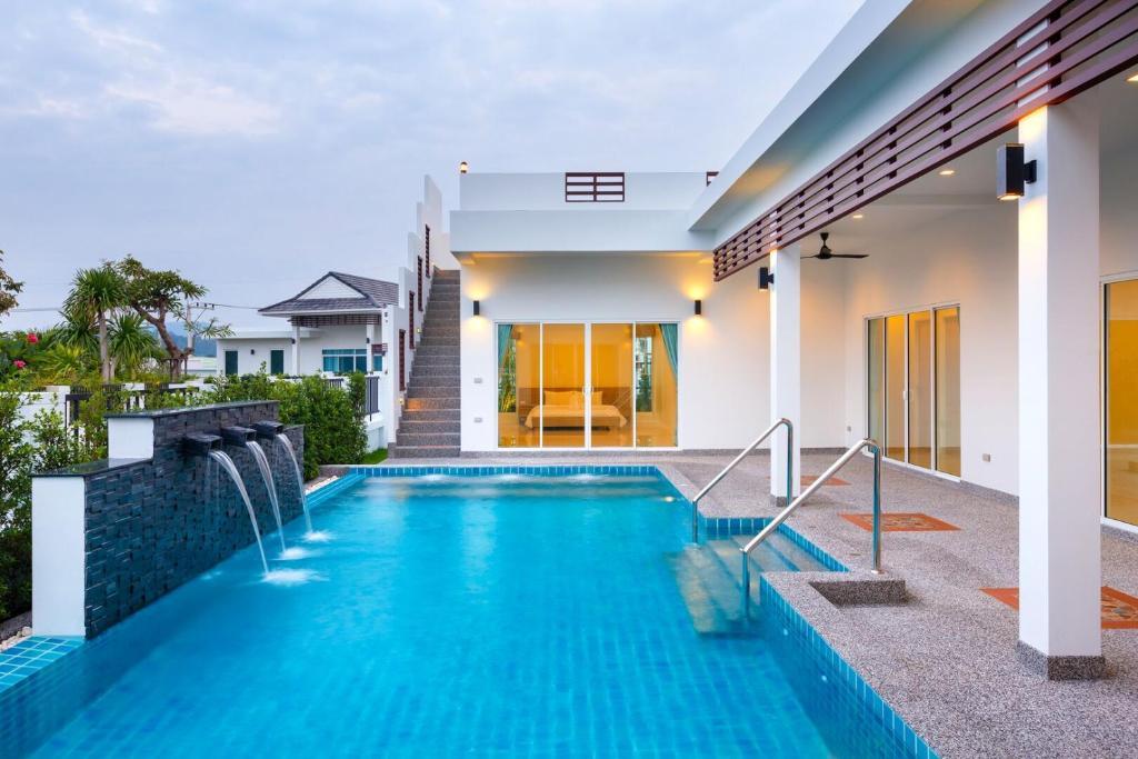 The swimming pool at or near Sivana Villas Hua Hin
