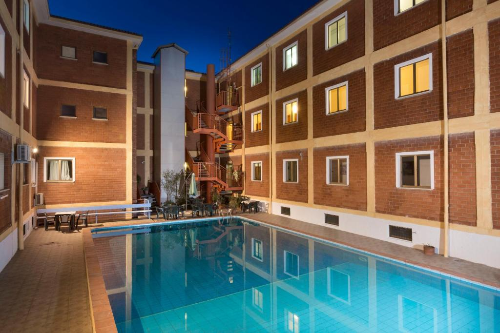 The swimming pool at or near Hotel Citti