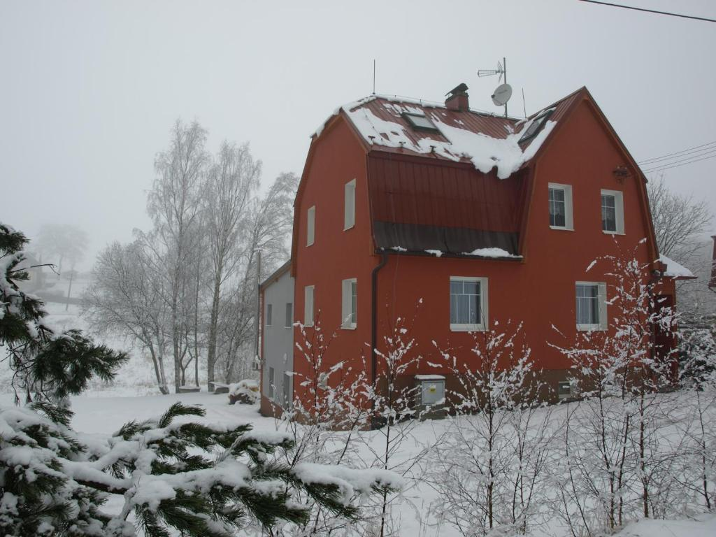 Apartman Krista v zimě