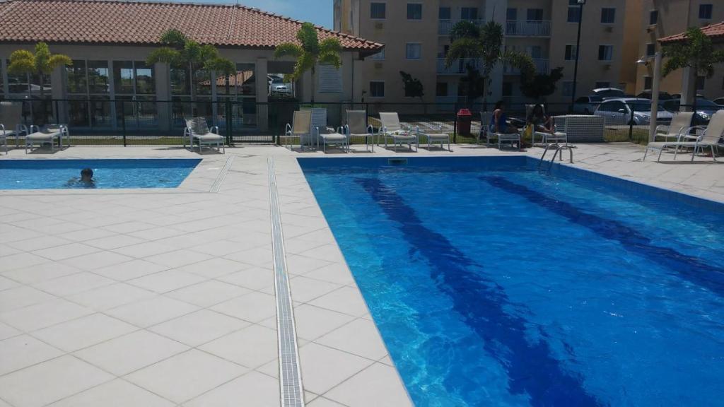 A piscina localizada em Apto - Praia - ES - Manguinhos ou nos arredores