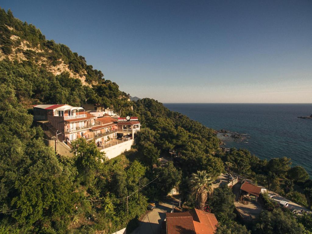 A bird's-eye view of Bella Vista Apartments