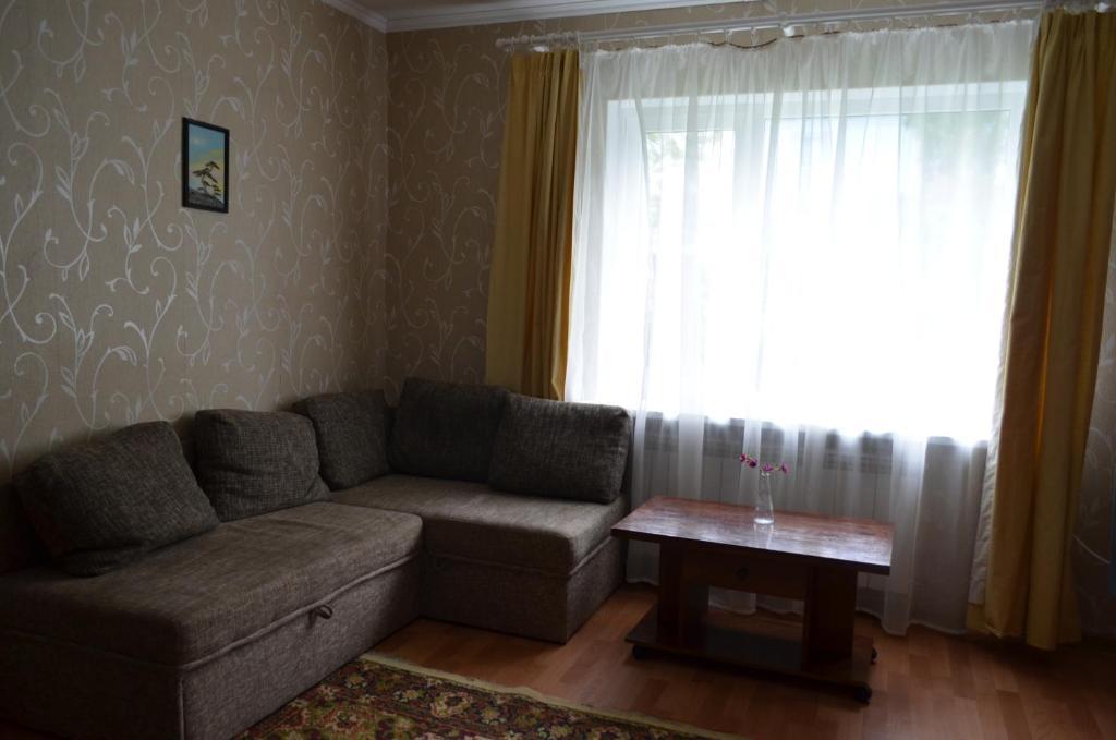 Гостиная зона в Apartment Zheleznodorozhnaya 4