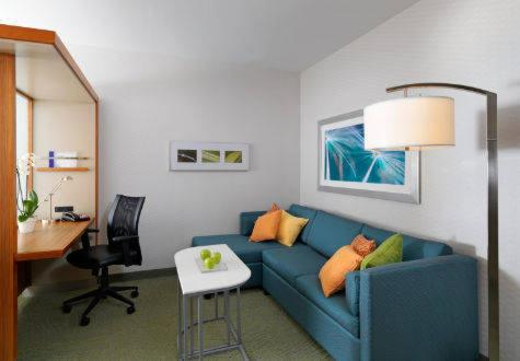 A seating area at SpringHill Suites by Marriott Murray