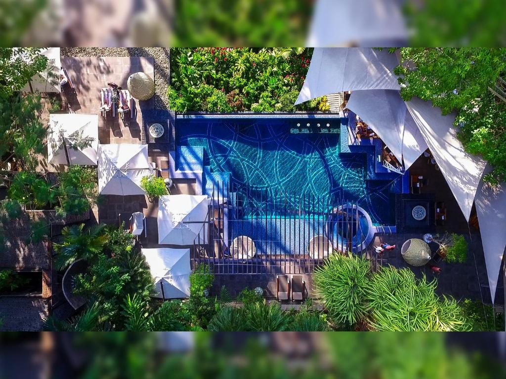 The swimming pool at or close to Makanda by The Sea Hotel Adults Only