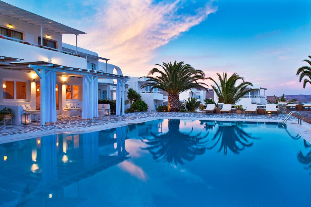 The swimming pool at or near Anemoessa Boutique Hotel Mykonos