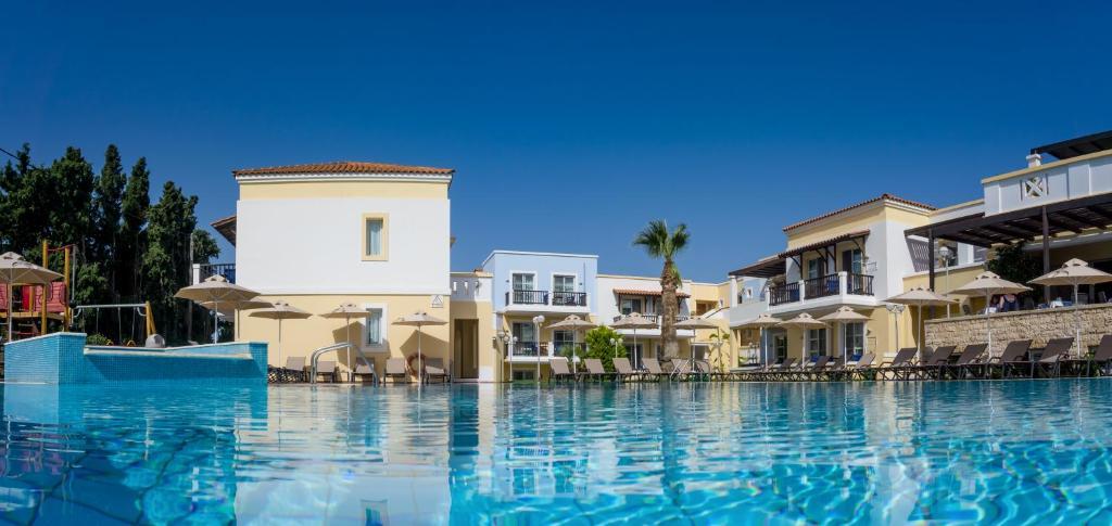 Het zwembad bij of vlak bij Aegean Houses
