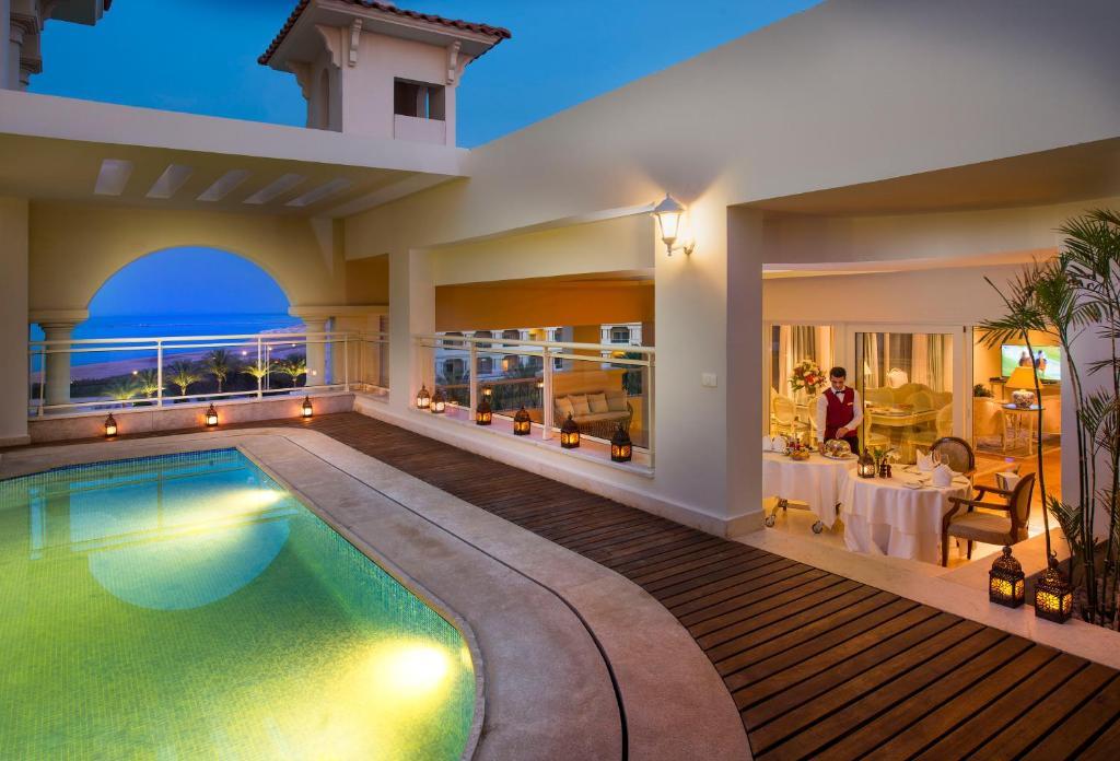 Люкс Grand Royal із видом на море та власним басейном: фотографія №14