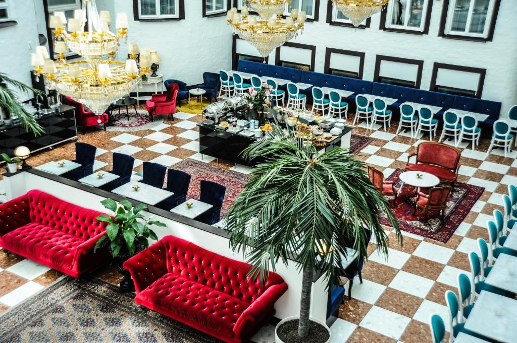 En restaurang eller annat matställe på Best Western Hotel Bentleys