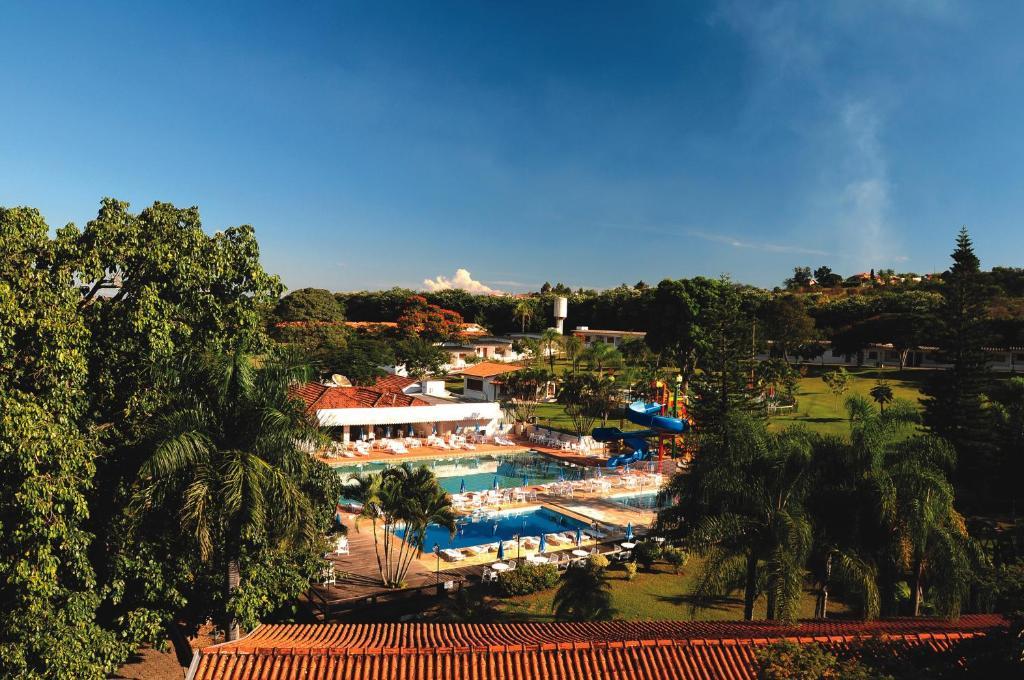Uma vista da piscina em Hotel Fazenda Sao João ou nos arredores