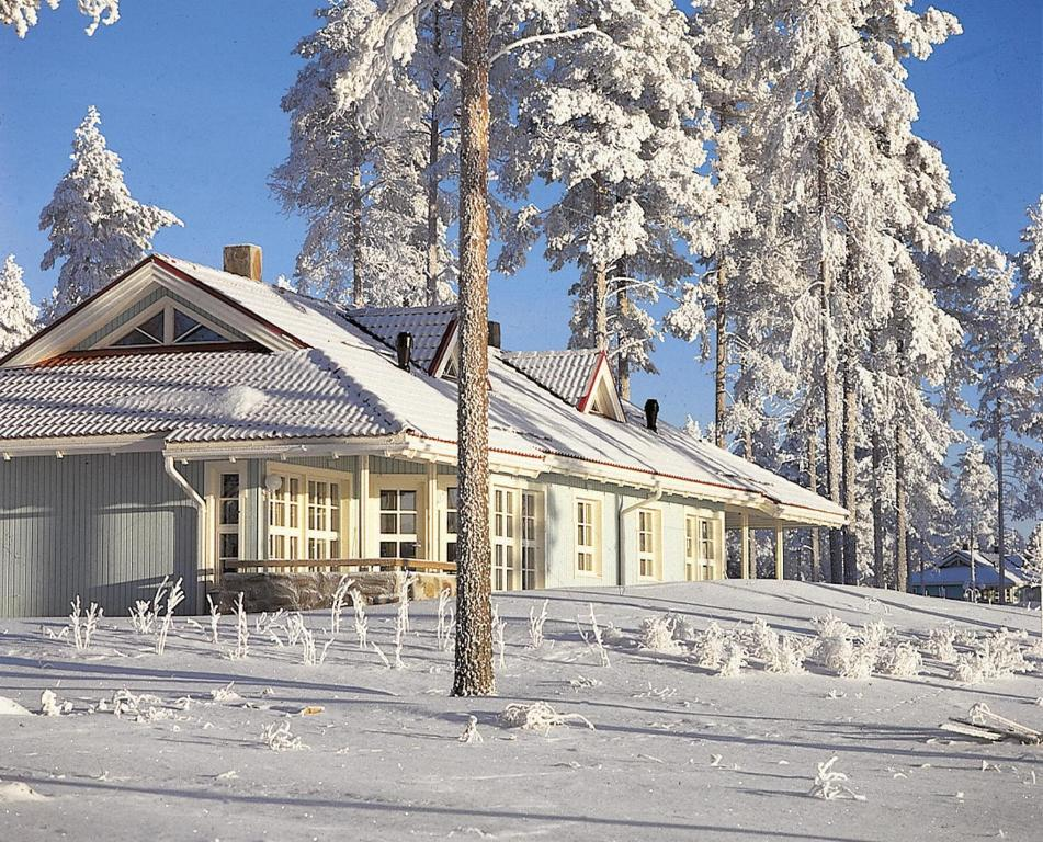 Holiday Club Katinkulta Apartments in de winter
