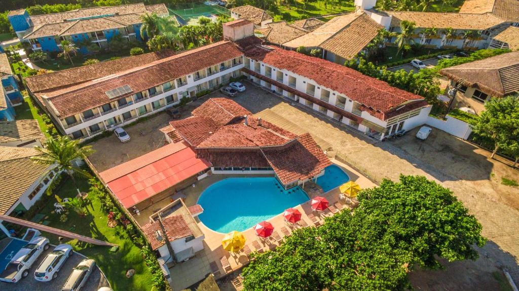 A bird's-eye view of Garça Branca Praia Hotel