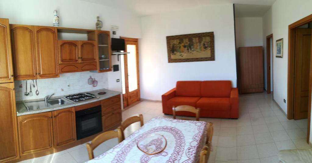 Cucina o angolo cottura di Villa Lucrezia Trilo