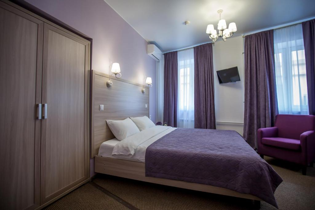 Cama o camas de una habitación en Arbat Inn