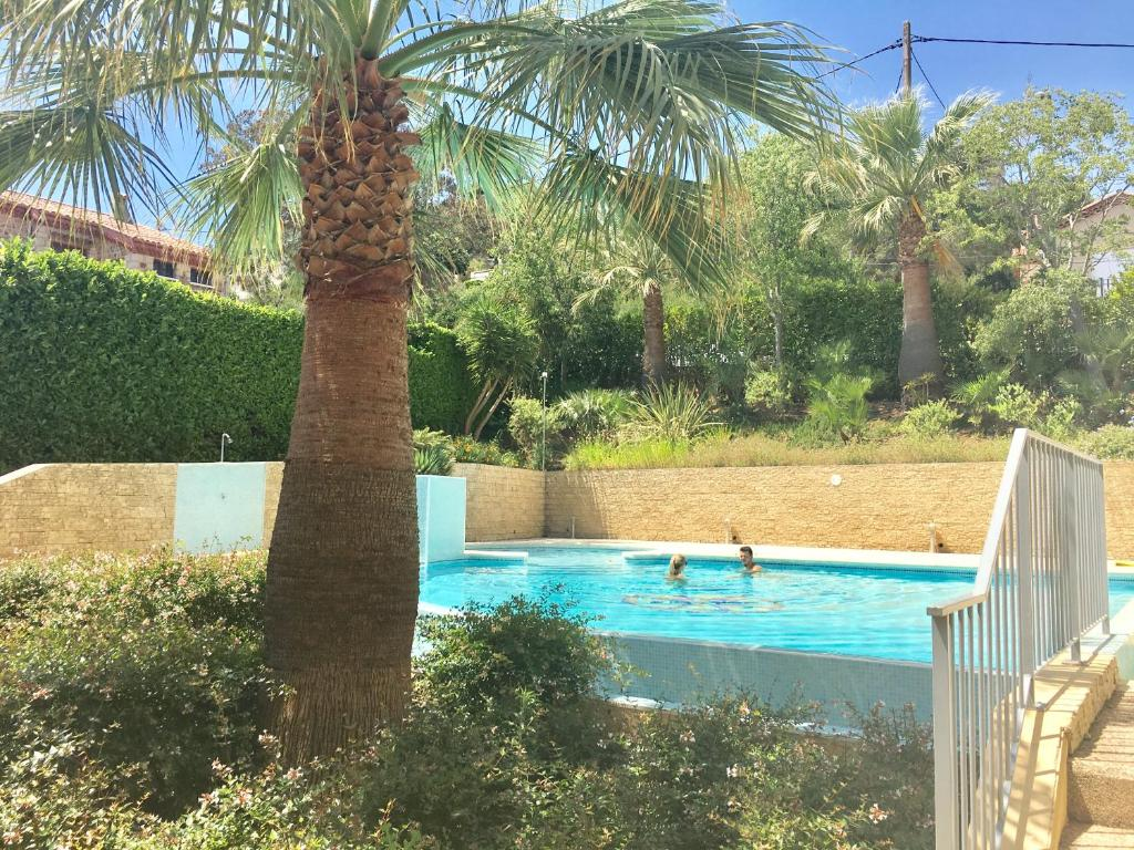 The swimming pool at or near Les Hauts de Lérins - Cannes Marina