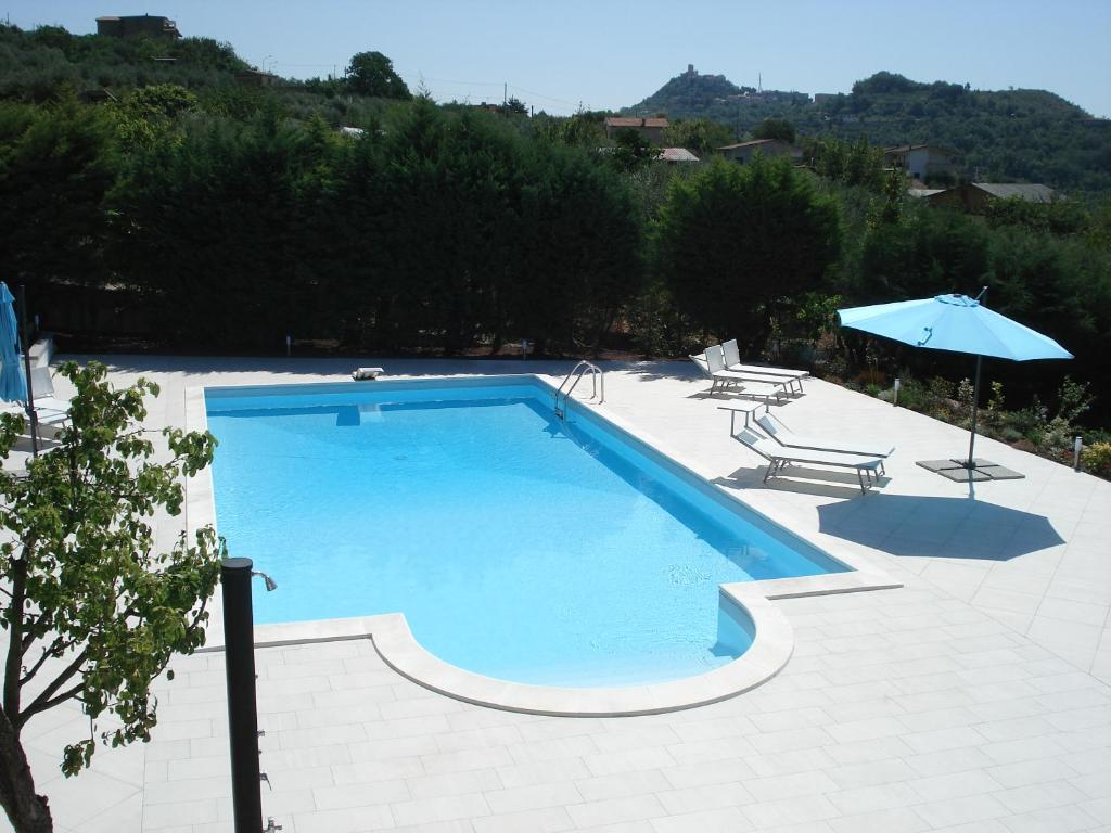 The swimming pool at or near Globetrotter