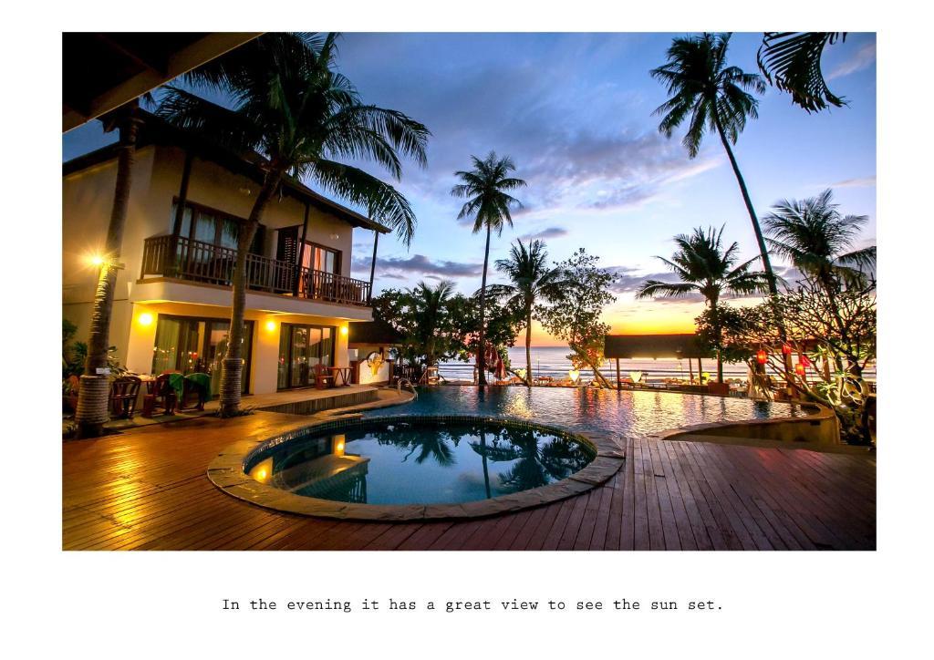 Der Swimmingpool an oder in der Nähe von Mac Resort Hotel