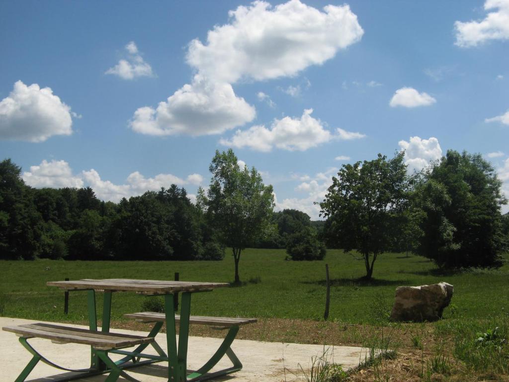Jardin de l'établissement Gite De La Distillerie